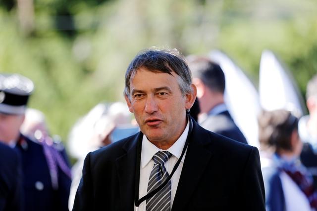 M. Grenard, maire des Bouchoux