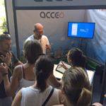 Acceo/Tadeo était présent au Festival Clin d'œil