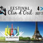 [SAVE THE DATE] Festival Clin d'œil et Congrès Mondial des Sourds