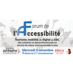 [SAVE THE DATE] 2ème édition du Forum de l'accessibilité – 06 Novembre 2019 à Paris