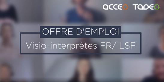 metier interpretes français langue des signes française lsf sourd malentendant